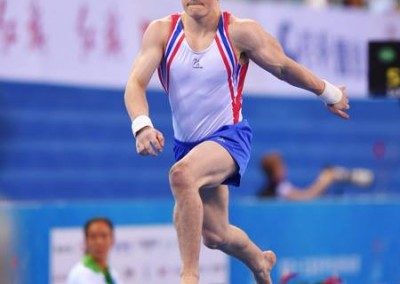 Nile Wilson Junior European All-Around Champion 2014