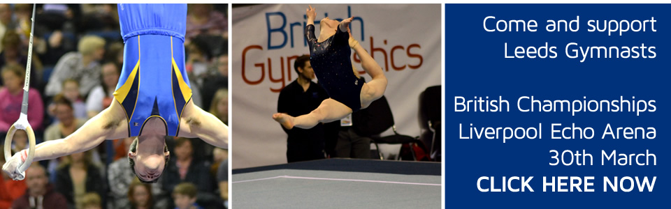 Support Leeds Gymnasts at the British Championships 2014