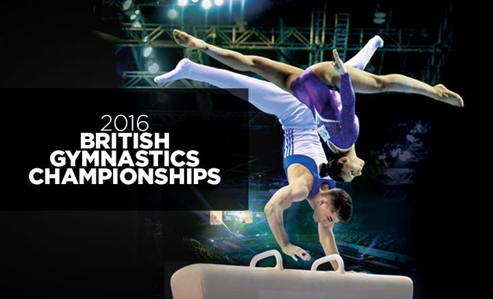 British Artistic Gymnastic Championships logo