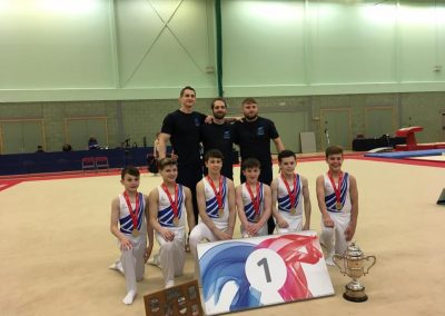 Junior Men's British Gymnastics Team Champions 2016