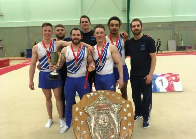 Men's British Gymnastics Team Champions 2016