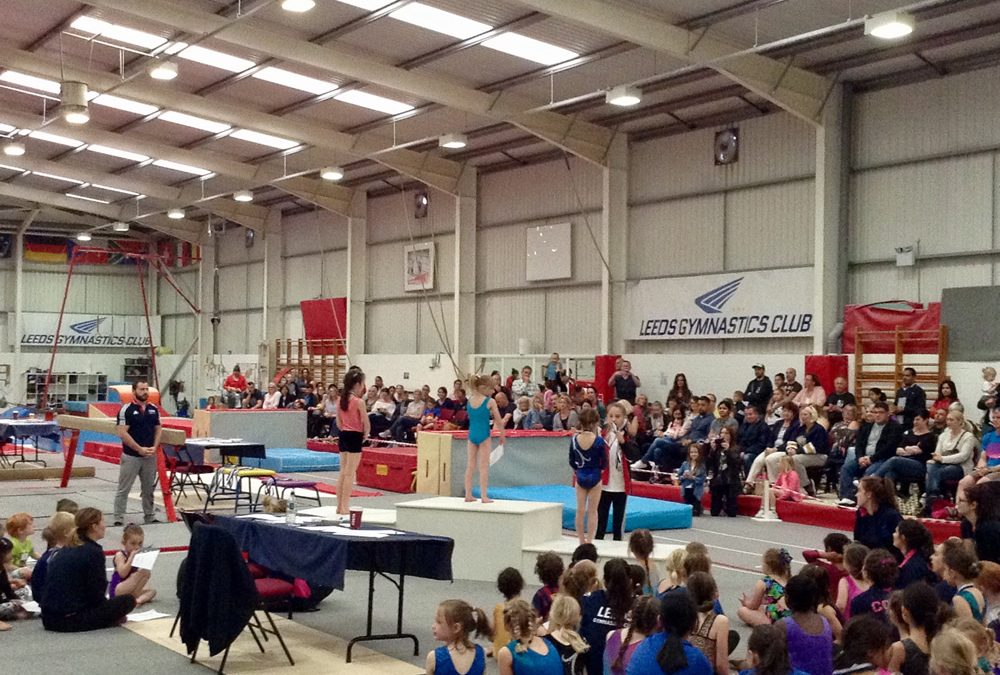 Gymnastics for All Competition Leeds
