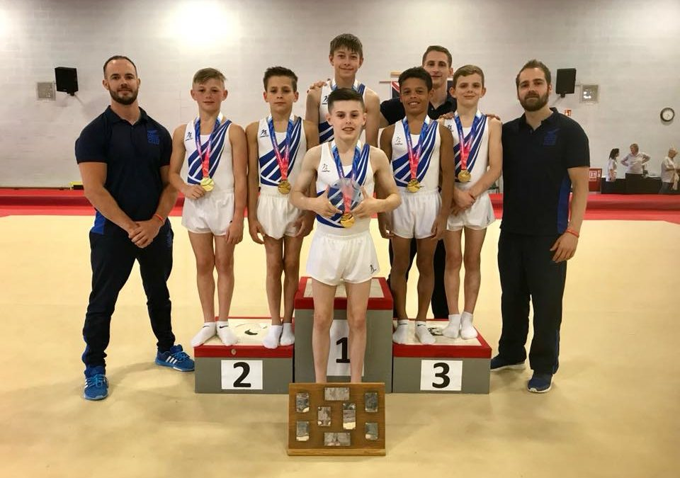 Leeds - Men's Junior British Gymnastics Team Champions
