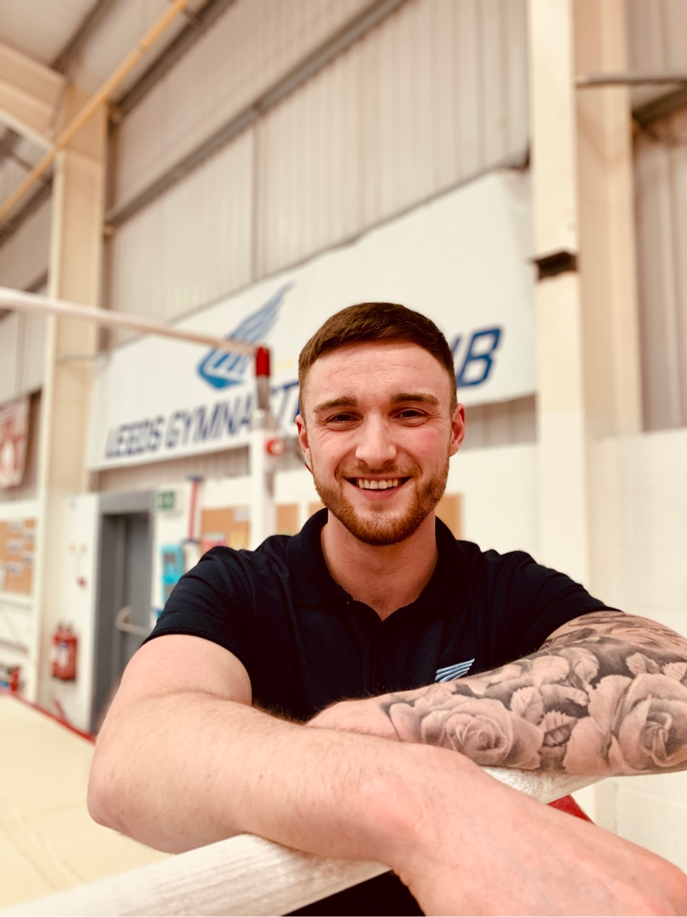Liam Pearson Leeds Gymnastics Coach and Personal Trainer