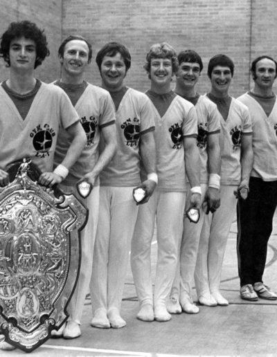 LAI winners of the original Adam Shield 1977 - Men's British Team Championship
