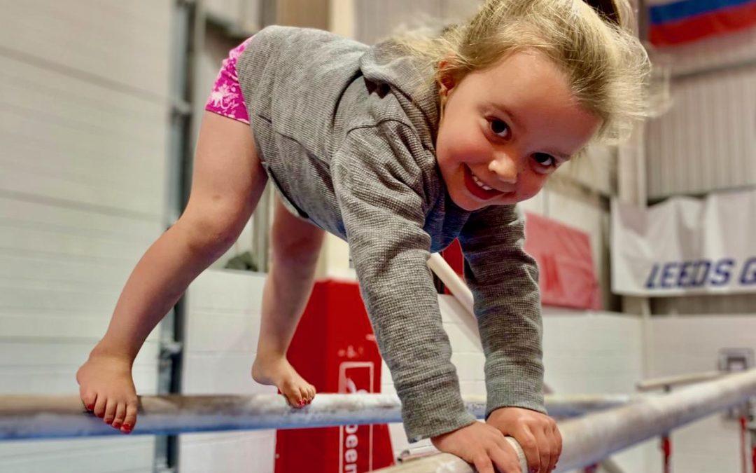 Pre School gymnastics classes in Leeds