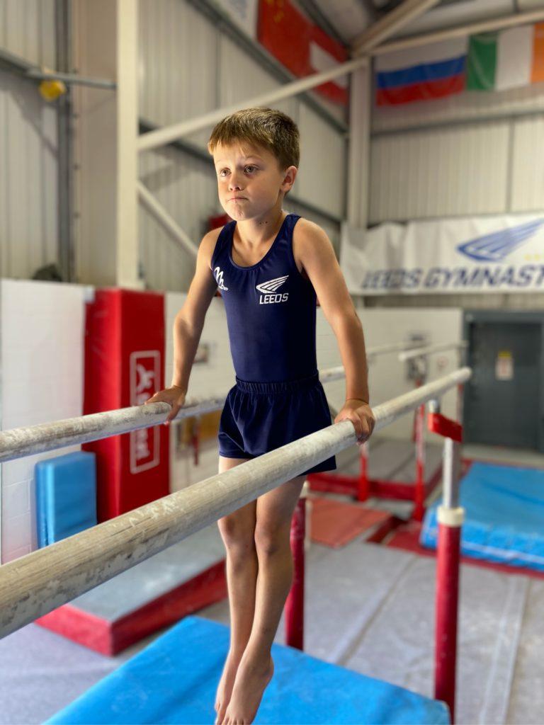 boys general gymnastics classes in Leeds