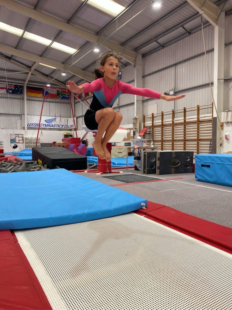 girls general gymnastics classes in Leeds