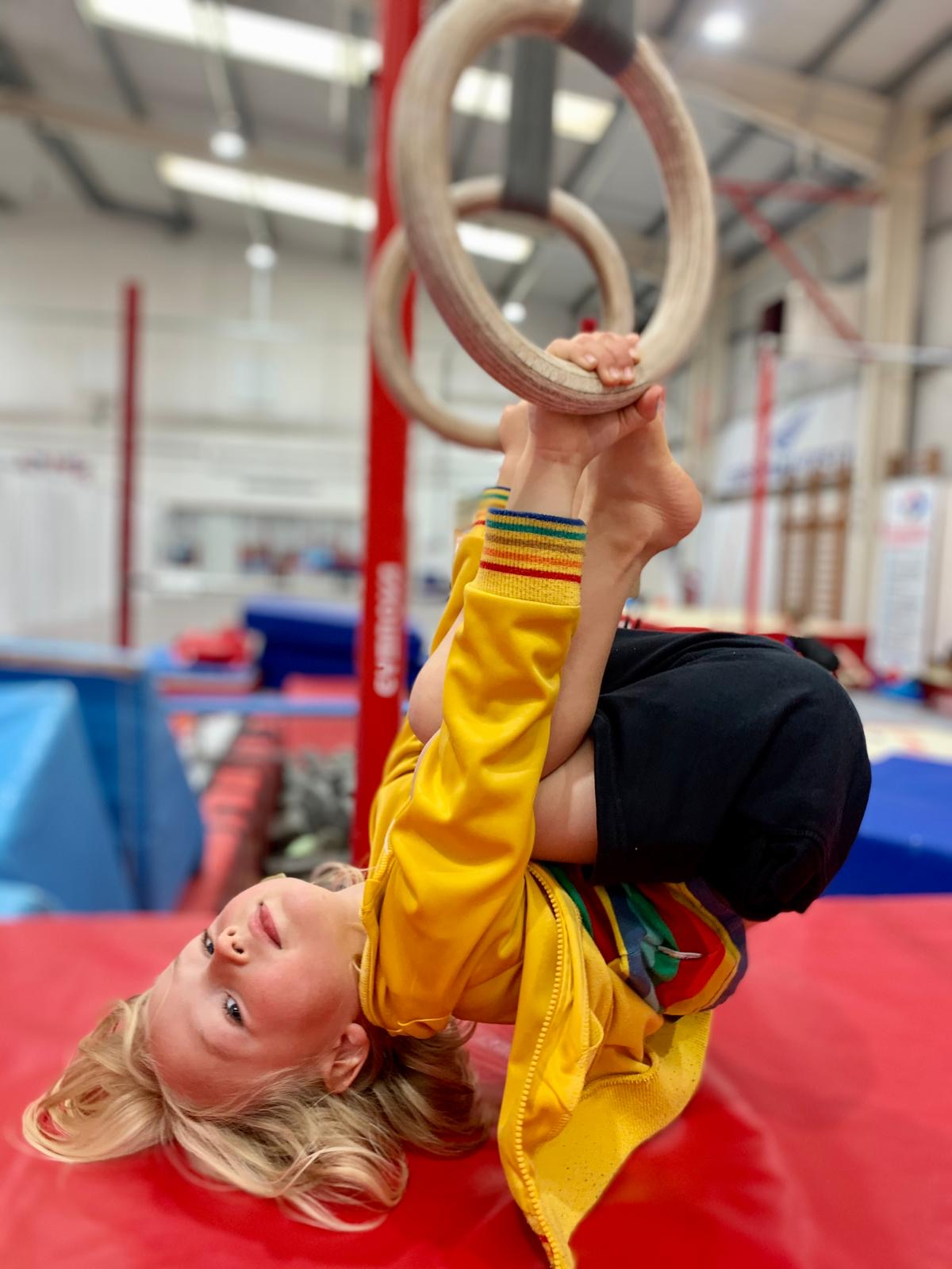 making friends and having fun with gymnastics