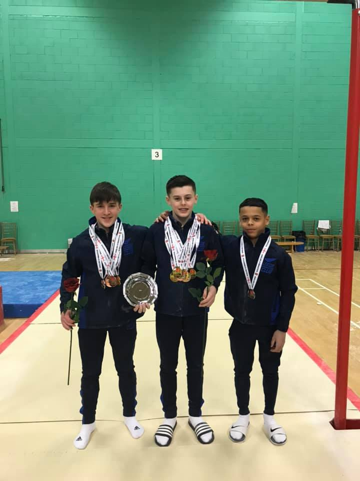 Leeds English Championships medals