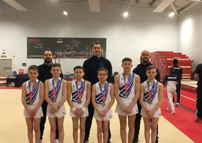 2019 British Junior Team Silver Medallists