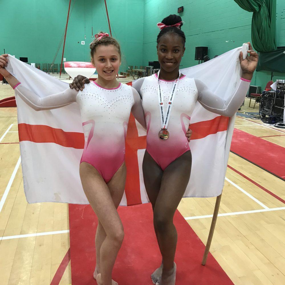 English Champs 2019 Shanna-Kae Grant and Charlie Turner