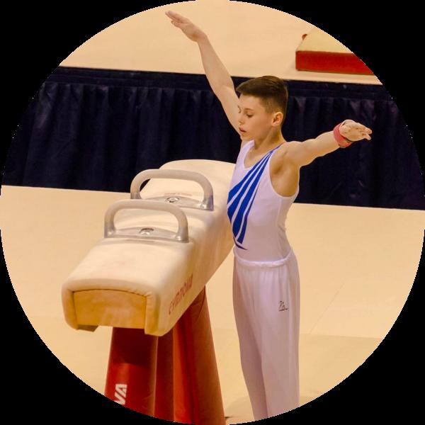 Jack Stanley national squad gymnast