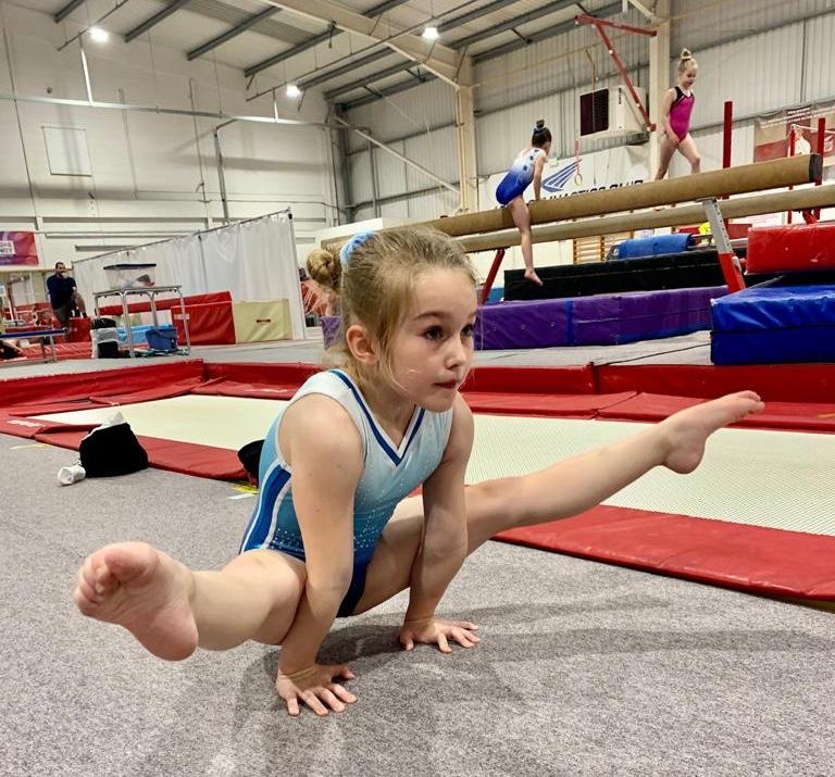 Leeds Gymnastics talent trial day