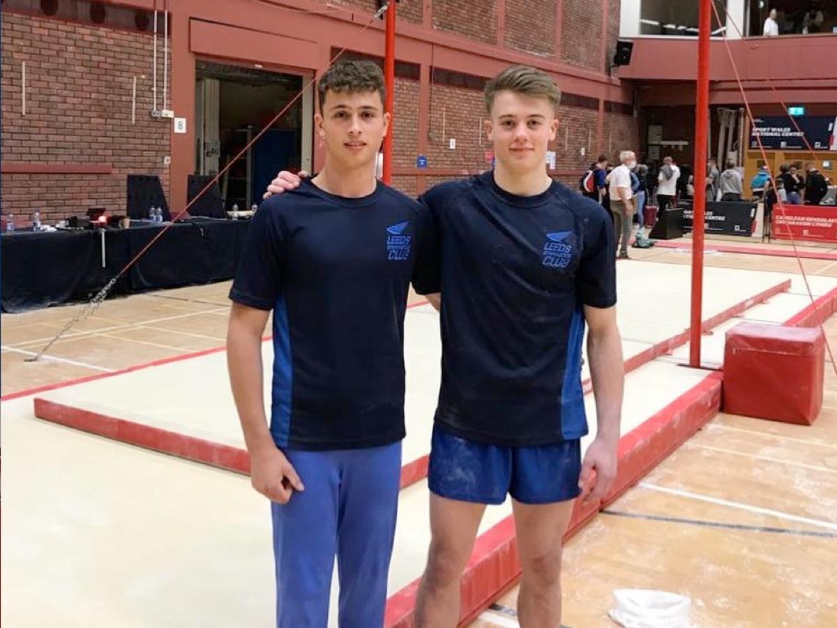 Leeds Men's Gymnasts at the British Championships 2021